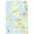 Map Marketing Sales and Marketing Map Unframed 12.5 Miles/inch Scale W830xH1200mm Ref UKM