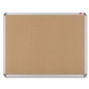 Nobo Euro Plus Noticeboard Cork with Fixings and Aluminium Trim W924xH615mm Ref 30530320