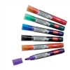 Nobo Liquid Ink Drymarker Drywipe Flipchart OHP Bullet Tip Line Width 3mm Assorted Ref 1901072 [Pack 12]