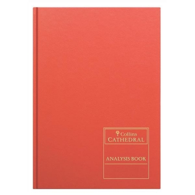 Collins Cathedral Analysis Book 69 Series Petty Cash 3 Debit 9 Credit 96 Pages A4 Ref 69/3/9.1