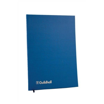 Guildhall Account Book 31 Series 4 Cash Column 80 Pages 298x203mm Ref 31/4Z