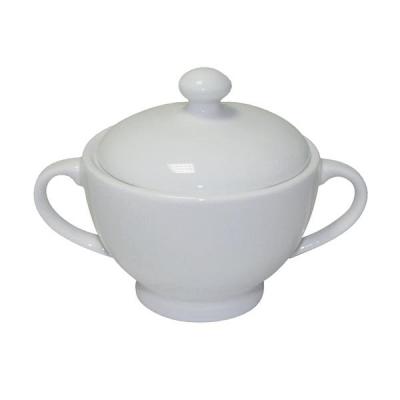 5 Star Sugar Bowl and Jug Fine Bone China White