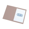 Elba Square Cut Folder Recycled Lightweight 180gsm A4 Buff Ref 100090117 [Pack 100]