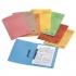 Elba Spirosort Transfer Spring File Recycled 310gsm 35mm Foolscap Orange Ref 100090161 [Pack 25]