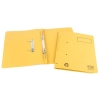 Elba Spirosort Transfer Spring File Recycled 310gsm 35mm Foolscap Yellow Ref 100090163 [Pack 25]