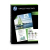 Hewlett Packard [HP] No. 920XL Officejet Value Pack Colour Inkjet Cartridge and A4 Matt Paper Ref CH081AE