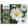 Epson 18 Inkjet Cartidges Capacity 15.1ml Total Black/Cyan/Magenta/Yellow Ref C13T18064010 [Pack 4]