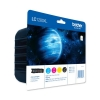 Brother Inkjet Cartridge Value Pack Page Life 2400pp Black/Cyan/Magenta/Yellow Ref LC1280XLVALBP [Pack 4]