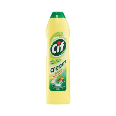 Cif Professional Cream Cleaner Lemon 500ml Ref 86791