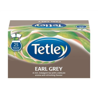 Tetley Tea Bags Earl Grey Drawstring in Envelope Ref 1277 [Pack 25]