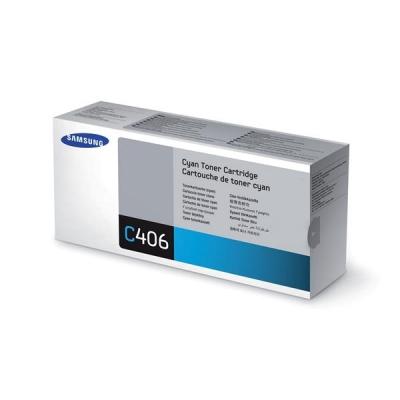 Samsung Laser Toner Cartridge Page Life 1000pp Cyan Ref CLT-C406S/ELS