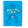Campus Project Book Laminated Card Cover Wirebound 200 Pages 4 Hole 90gsm A5 Ref 400020082 [Pack 5]