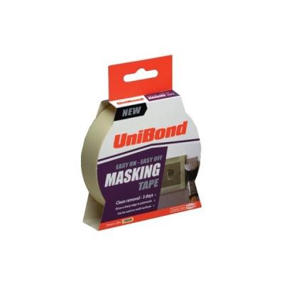UniBond Masking Tape Easy On/Off 25mm x 25m Ref 1667769