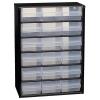 Raaco Steel Cabinet 18 Polypropylene Drawers Black Ref 132022