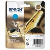 Epson 16 Inkjet Cartridge Pen & Crossword Page Life 165pp Cyan Ref T16224010