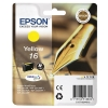 Epson 16 Inkjet Cartridge Pen & Crossword Page Life 165pp Yellow Ref T16244010