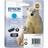 Epson 26XL Inkjet Cartridge Polar Bear Capacity 9.7ml Cyan Ref C13T26324010