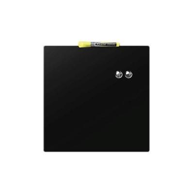 Rexel Magnetic Drywipe Board Square Tile 360x360mm Black Ref 1903774