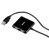 Hama USB 2.0 4-port Hub Bus powered black