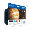 Brother Inkjet Cartridge Value Pack Page Life 2400pp Black/Cyan/Magenta/Yellow Ref LC1240VALBP [Pack 4]
