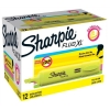 Sharpie Fluo XL Highlighter Chisel Tip 3 Widths Yellow Ref 1825634 [Pack 12]