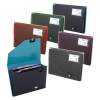 Snopake Fusion Expanding Wallet Stepped 13-Part Assorted Ref 15647 [Pack 5]