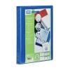 Elba Panorama Presentation Ring Binder PVC 4 O-Ring 16mm Capacity A4 Blue Ref 400020318 [Pack 5]
