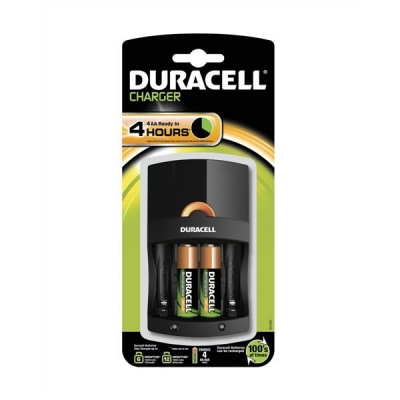 Duracell Battery Charger CEF14 4Hrs Ref 81362483