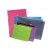 SSeco Oxo-biodegradable Polypropylene Wallet A5 Landscape Assorted Ref PPTA5-AST [Pack 5]