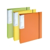 GLO Ring Binders 2 O-Ring Size 25mm A4 Assorted [Pack 3]