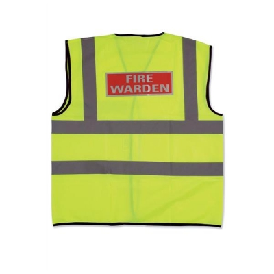 IVG Fire Warden Vest Medium Ref IVGSFWVM