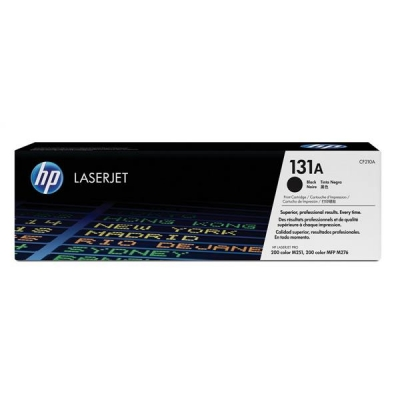 Hewlett Packard [HP] No. 131A Laser Toner Cartridge Page Life 1600pp Black Ref CF210A