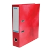 Elba Lever Arch File Laminated Gloss Finish 70mm Capacity A4 Red Ref 400021004