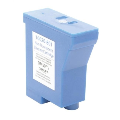 Totalpost Franking Inkjet Cartridge Blue [Pitney Bowes DM50 Series Equivalent] Ref 10020-801