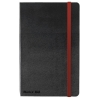 Black By Black n Red Casebound Notebook 90gsm Ruled and Numbered 144pp A5 Ref 400033673