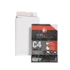 Plus Fabric Envelopes C4 Gusset Retail Pack Ref R10007 [Pack 10]
