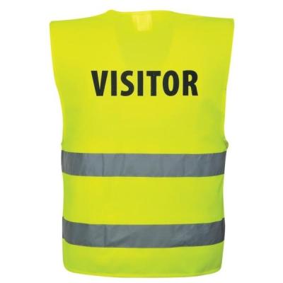High Visibility Visitors Vest XXL-XXXL