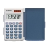 Sharp EL243S Calculator Hand Held with Hard Cover Ref EL243S