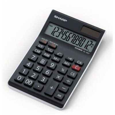 Sharp EL124TWH Calculator Desktop Ref EL124TWH