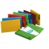 Elba Document Wallet Half Flap 310gsm Capacity 30mm A4 Assorted Ref 100091110 [Pack 50]