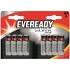 Eveready Silver Alkaline Battery AA PK8 Ref 637619 [Pack 8]