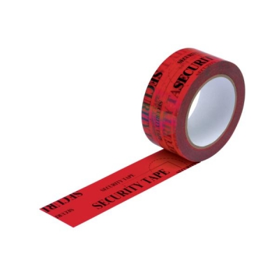 Security Tape Tamper Evident 48mmx50m Red