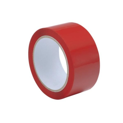 Tape Polypropylene 50mmx66m Red [Pack 6]