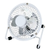 5 Star Desk Fan 4 Inch With Tilt USB 2.0 Interface White