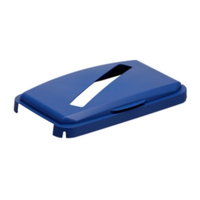 Durabin Hinged Lid Recycling Paper and Card for 60 Litre Ref 1800502040