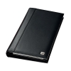 Sigel Torino Business Card Organiser Leather 160 Card Capacity 275x160x35 mm Black
