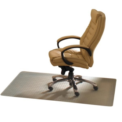 Ecotex Revolution Chair Mat For Carpet 1200x1300mm Clear Ref FCECO114851EP
