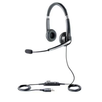 Jabra Voice 550 USB NC Duo Padded Headset Ref 45123