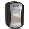 Purell LTX-7 Touch Free Hand Wash Dispenser 700ml Chrome and Black Ref X01163