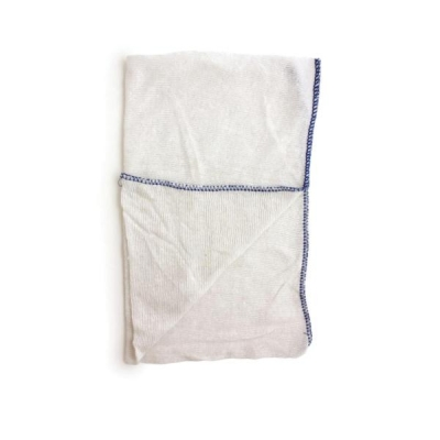 Dish Cloths Stockinette Blue Pk 10 Ref SPC/CLOTH.04/B [Pack 10]